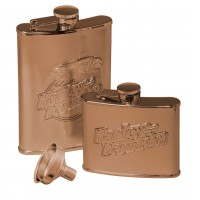 H-D Eagle Flask Set