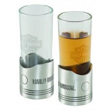 H-D Piston Shot Glass Set