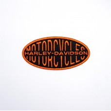 """Aufnäher """"Orange Font"""""""