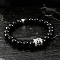 Armband Lilie Onyx